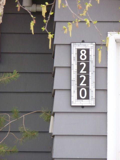 Best Address Plaques Images On Pinterest Address Plaque - Best creative house number ideas