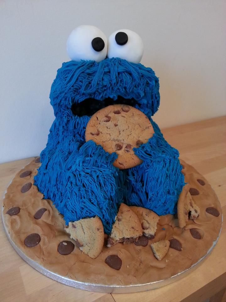 Cookie Monster Cakes Walmart