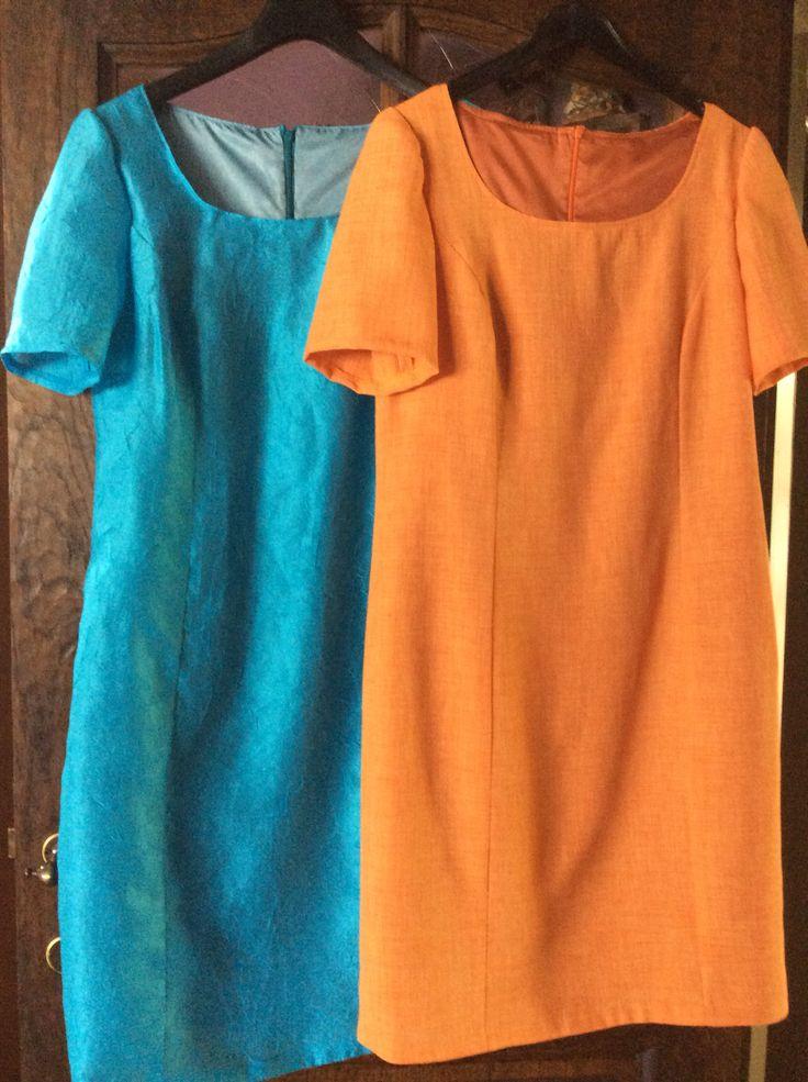 Twee kleedjes een patroon