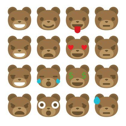 bear emoticons