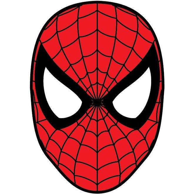 Free vector spider man face cartoon character http www - Free spiderman cartoons ...