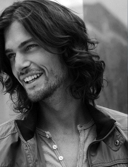 ... Men, Long Hair, Bing Image, Marius Hordijk, Dutch Models, Hair Men