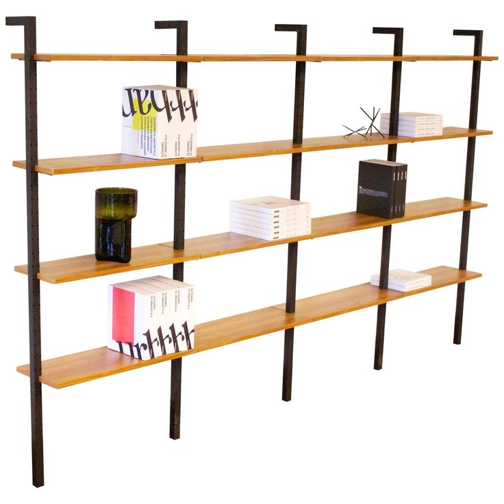 Stylish 1950s Wall Unit By Pilastro, Holland