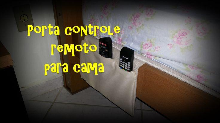 DIY - Porta Controle Remoto com cola