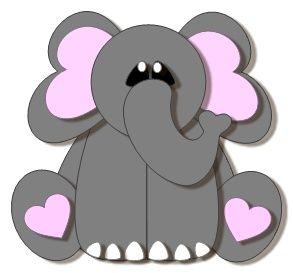 ScrappinbyKris: Ellie the Elephant svg file