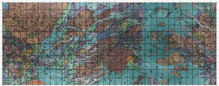 Geologic map of Ganymede, the largest moon in the solar system.  http://www.popsci.com/article/technology/big-pic-solar-systems-largest-moon-mapped?src=SOC&dom=tw