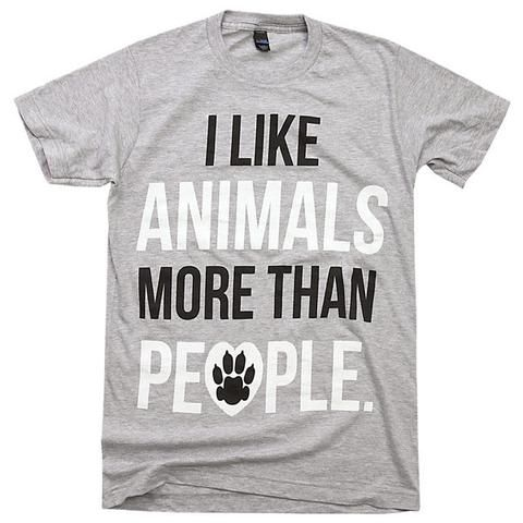 Not that it was ever a contest, but if it were - humans would lose. Animals are cuddly, cute, loving, caring, affectionate, kind, and a jillion other adjectives that you and I both know like the back