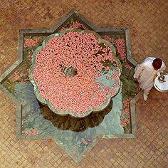 Amanjena, Morocco,  https://poshatplay.wordpress.com/2016/05/27/from-morocco-to-paris-to-l-a-springs-inspired-prints/