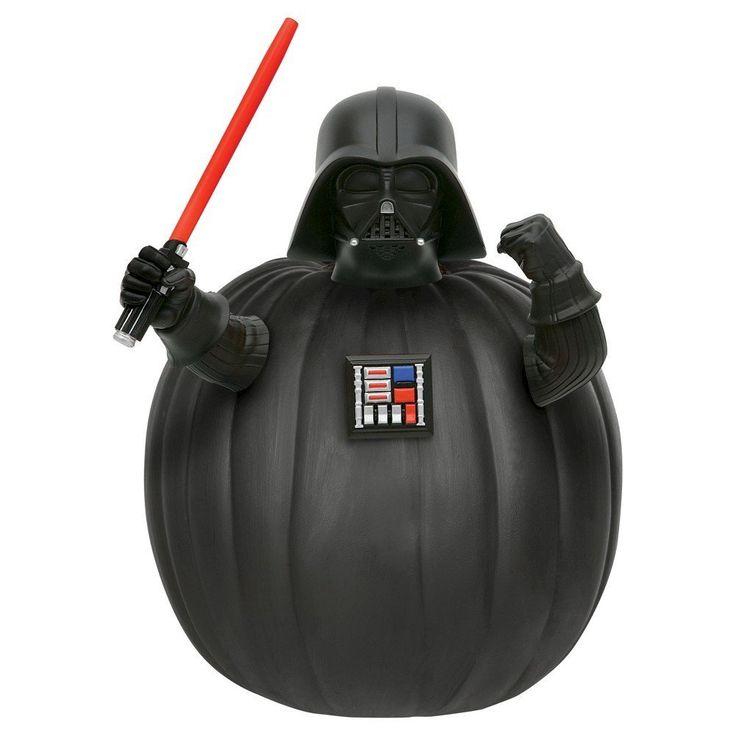 star wars darth vader push in pumpkin decorating kit