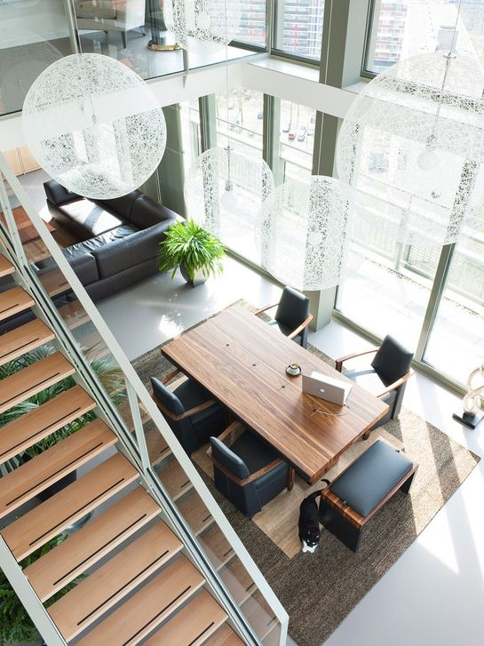 stairs, void & dining | stairs & railings in 2019 | pinterest