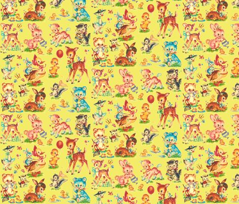 292 best wrapping paper prints everyday images on for Retro baby fabric