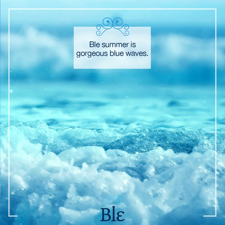 Like if you like it!  Share if you love it!  #BleSummer #BlueWaves