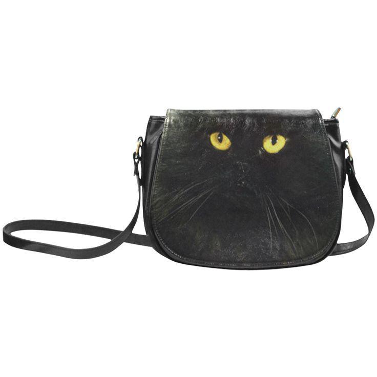 Black Cat Classic Saddle Bag/Large (Model 1648)
