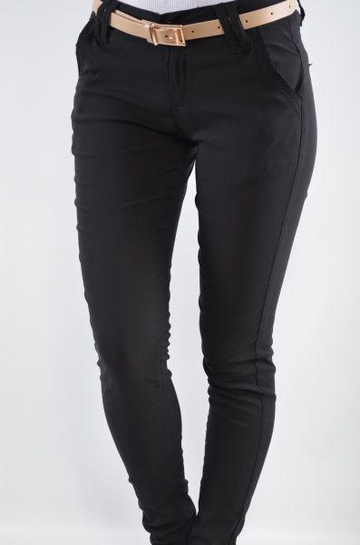 Pantaloni femei 413 Negru Haine ieftine, Articole ieftine femei, barbati si copii – KYK.ro