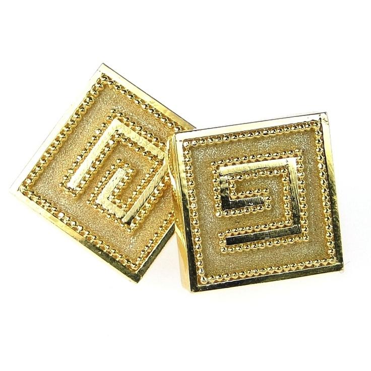 Cuff Links Yellow Gold 18-k