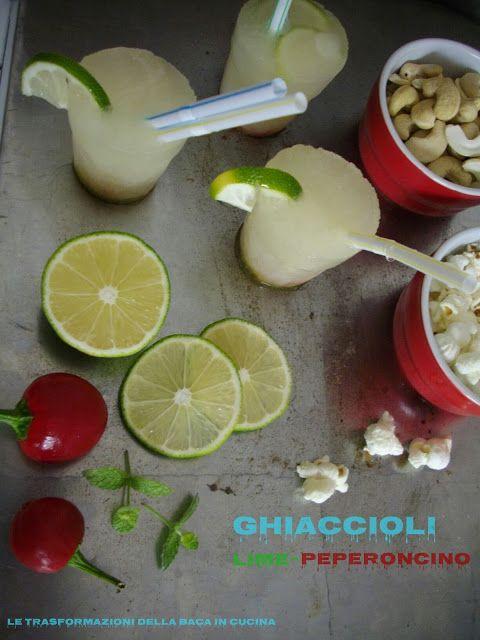 Cakes Lab Test&Taste: Ghiaccioli Lime e Peperoncino di Marcella