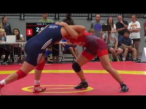2017 Canada Cup WW69kg Martina Kvenz (Austria) vs Olivia DiBacco (Brock)