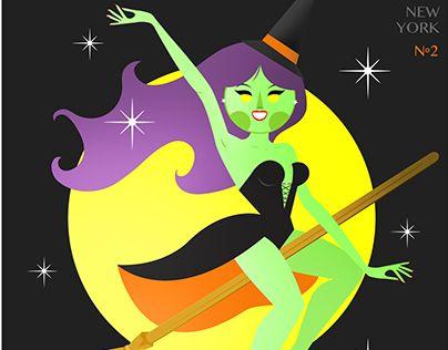 "Check out new work on my @Behance portfolio: ""Happy Halloween / KOKONE"" http://on.be.net/1RxAI54"