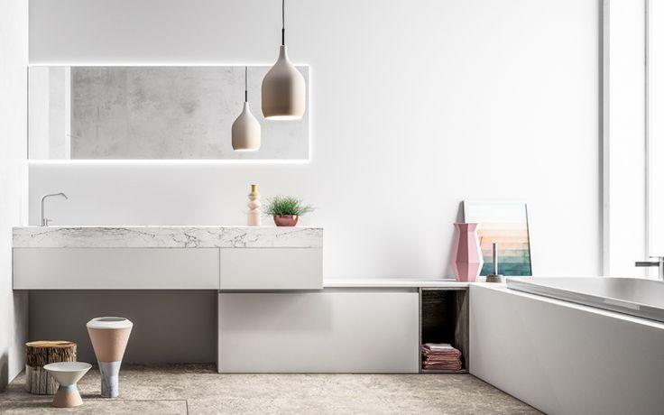 Progetto SMART nr. 5 - Bagno #arredobagno #home #design #bathroom #furniture
