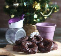 Полезные шоколадные пончики на кефире   Рецепты правильного питания - Эстер Слезингер