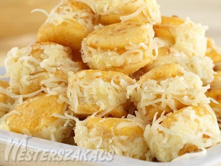 Sajtkrémes pogácsa recept