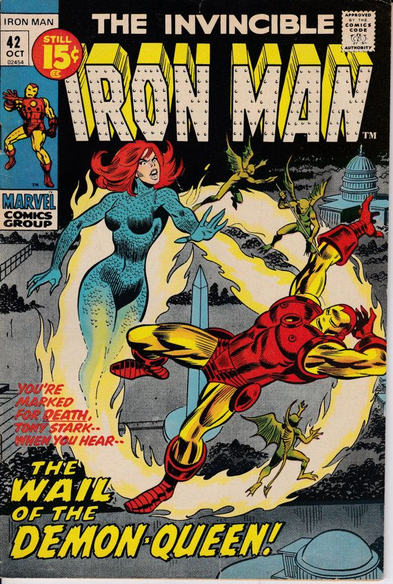 Iron Man 42 October 1971 Issue Marvel Comics by ViewObscura