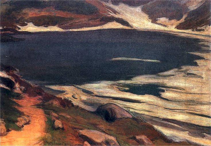 Morskie Oko by Władysław Ślewiński