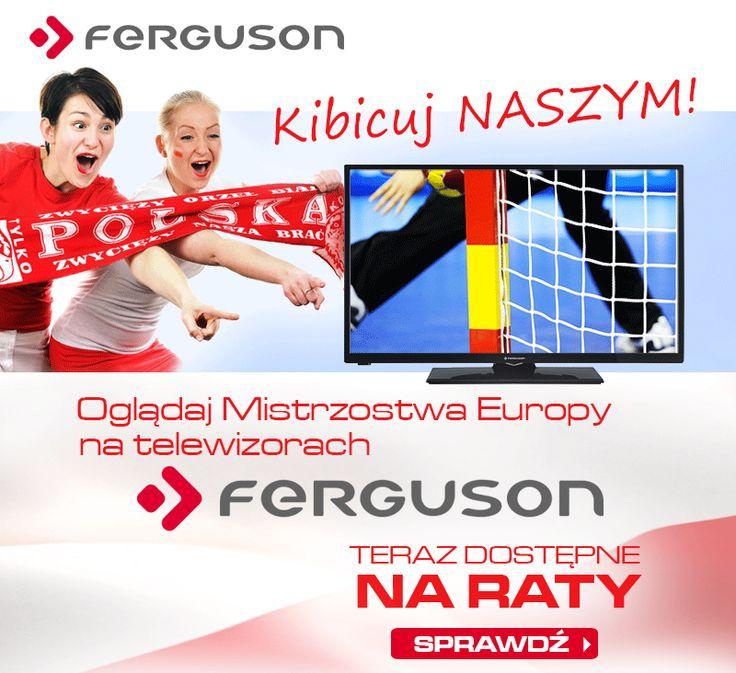 Ferguson kibicuje POLSKIEJ REPREZENTACJI w piłce ręcznej na Mistrzostwach Europy Mężczyzn. Oglądajcie je z NAMI! http://sklep.ferguson.pl/pl/c/Telewizory/61 #gopoland #mistrzostwaeuropy #pilkareczna