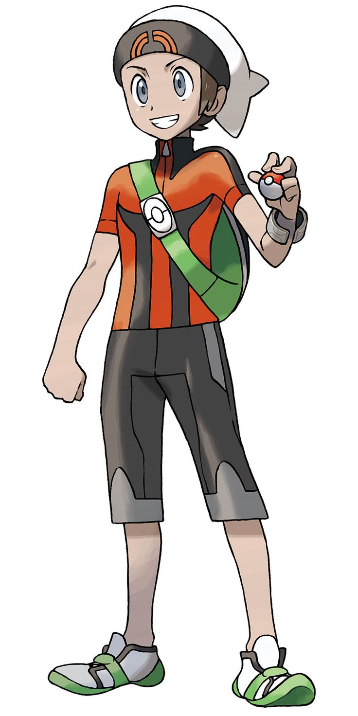 Main Character Boy - Characters & Art - Pokémon Omega Ruby and Alpha Sapphire