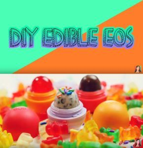 Best DIY EOS Projects - DIY Edible EOS - Turn Old EOS Containers Into Cool Crafts Ideas Like Lip Balm, Galaxy, Gumball Machine, and Watermelon - Fun, Cheap and Easy DIY Projects Tutorials and Videos for Teens, Tweens, Kids and Adults http://diyprojectsforteens.com/diy-eos-projects