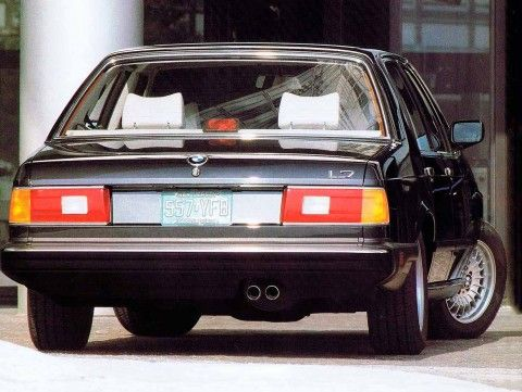 A most personal statement of style 1986 BMW L7 E23 7-Series