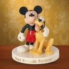 Lenox Mouse's Best Friend (Mickey with Pluto) Figurine