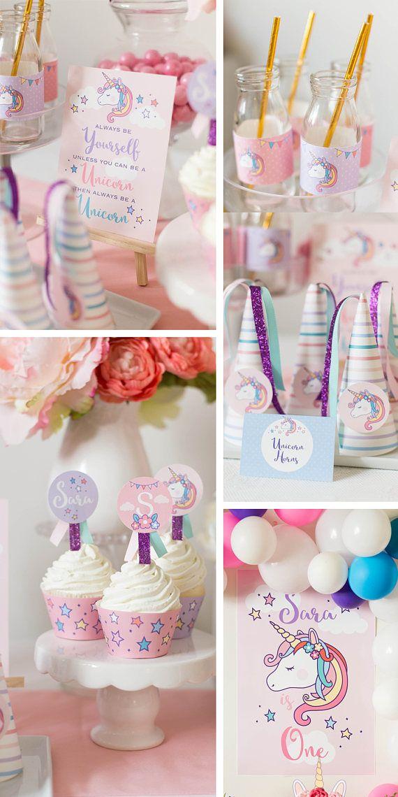 Matrimonio Tema Unicorno : Oltre fantastiche idee su feste di compleanno unicorno