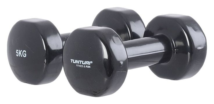Buy Tunturi Vinyl Dumbbells Pair | 5 Optionsfor R115.00