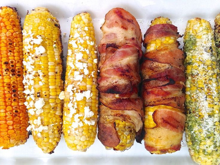 Butter and salt are great, but there are so many better ways to top grilled corn this summer. Use these ideas to impress your guests at your next country hoedown. - #recipes