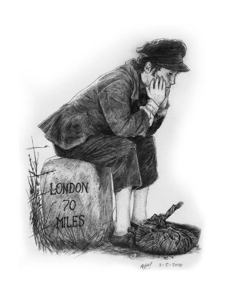 Иллюстрации к книге приключения оливера твиста
