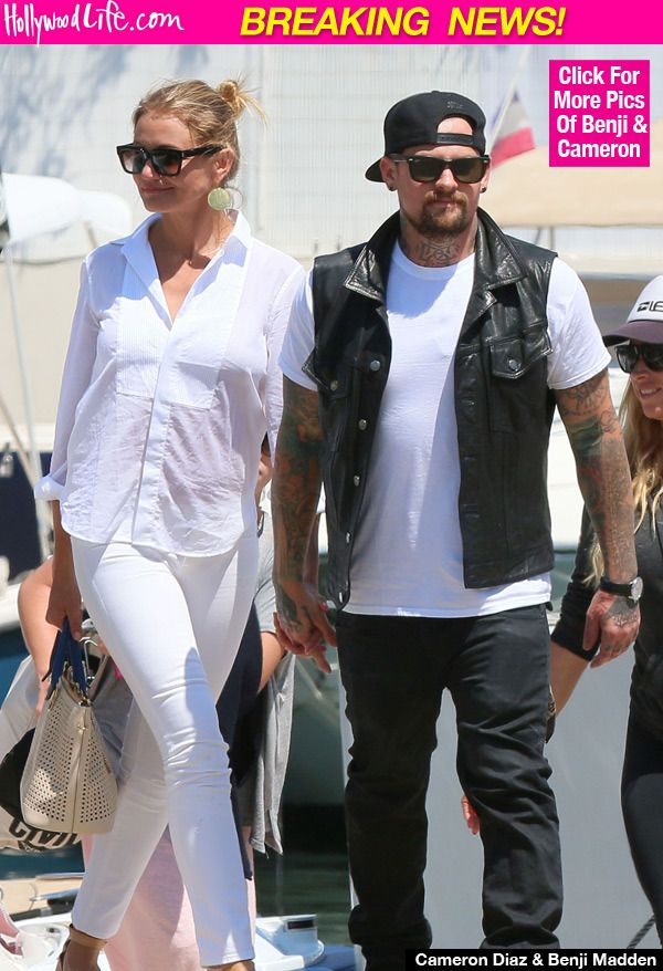 Benji Madden Cameron Diaz Married