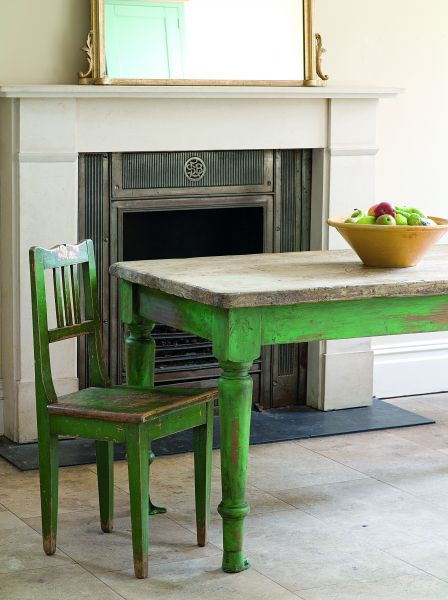 Best + Green distressed furniture ideas on Pinterest
