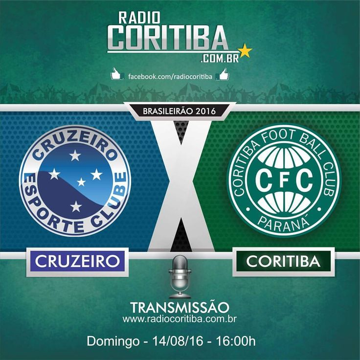#radiocoritiba #coritiba #coxa #aquiécoritiba #racaverdao #brasileirao #transmissao #aovivo #cruzeiro (em Estadio Independecia …)