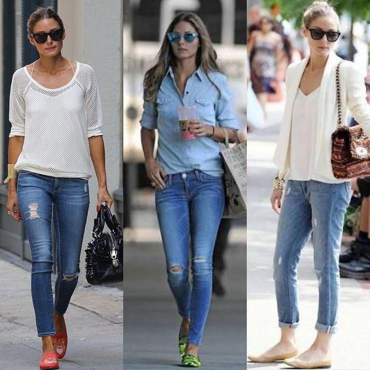 Alguns dos looks mega básicos da @oliviapalermo que podemos trazer para o nosso dia-dia #fashion #moda #daybyday #itgirls #style #itgirl #look #instagood #cool #brazil #gorgeous #jeans #forgirls by fashionladiesbr