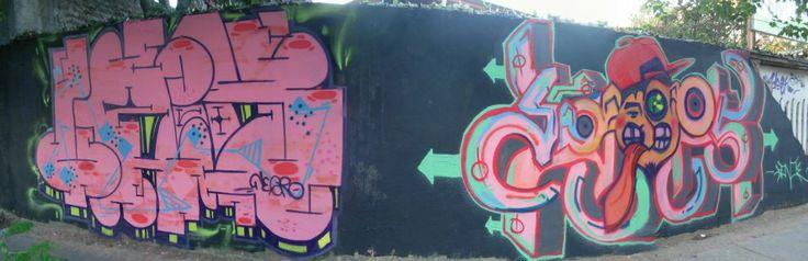 Graffiti, Trowap en Maipú LAX ft DONOS