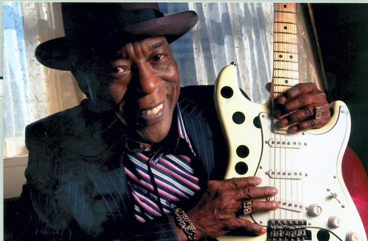 The one and only Buddy Guy. A pioneer of the Chicago blues sound.
