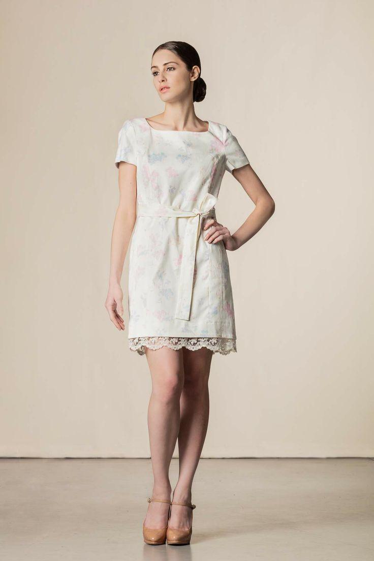 Vestito con stampa stampa var. bianca. #scervinostreet #perfectdress #shoponline #dressingfab