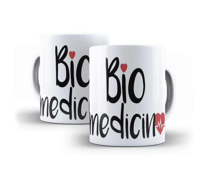 Caneca Personalizada Biomedicina - Coleção Profissões