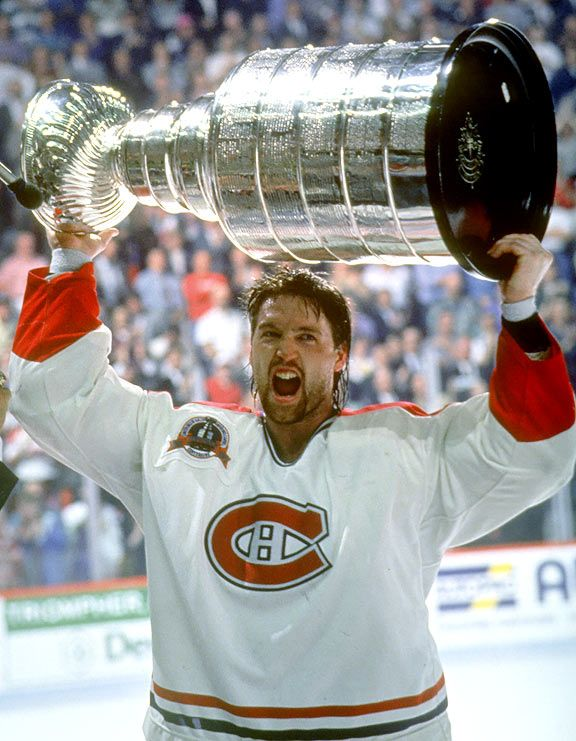 """Patrick Roy, Montreal Canadiens Now that's what you call """"a winner"""""""