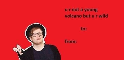 Fall Out Boy fall out boy Pinterest – Boy Valentines Cards