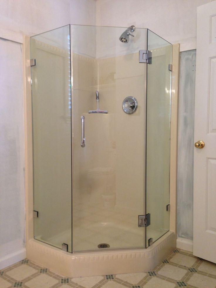 75 Best Frameless Shower Doors Images On Pinterest Custom Shower