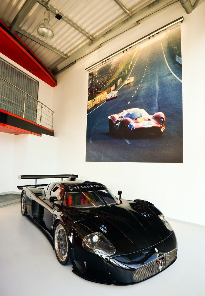 Visit The MACHINE Shop Café... ❤ Best of Maserati @ MACHINE ❤ (White Maserati MC 12 Supercar)