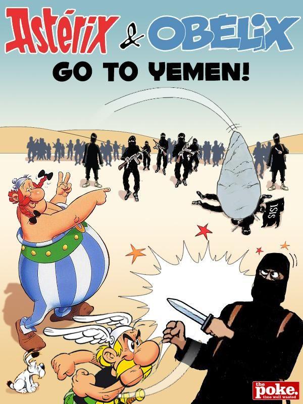 French Cartoons Fight Back!  http://www.thepoke.co.uk/2015/01/10/108844/#.VLFg18nysjI.twitter… #JeSuisCharlie