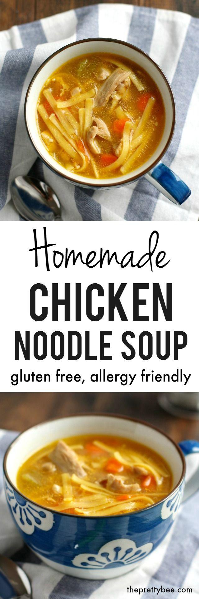 Best 25 homemade chicken soup ideas on pinterest for Best homemade chicken noodle soup recipe